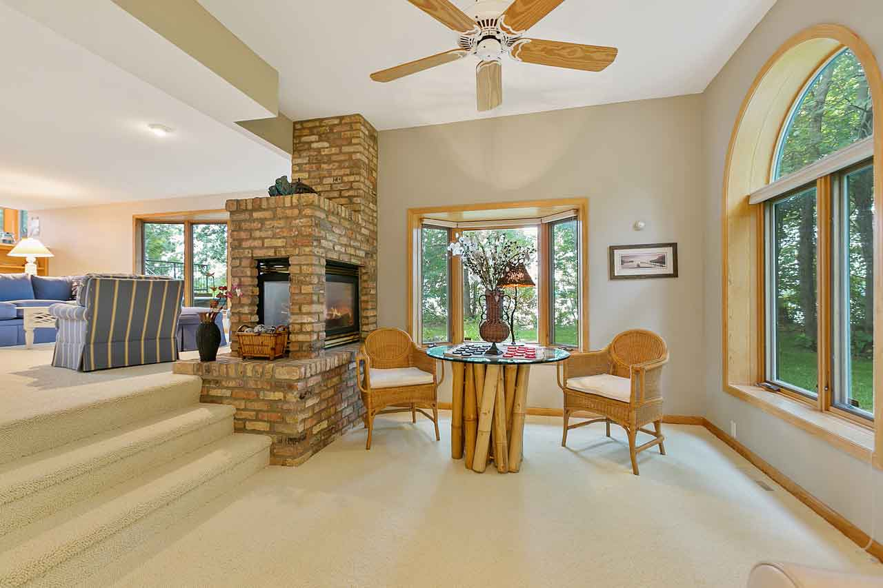 4595 Enchanted Point Shorewood MN 55364 Main Level Fireplace off Den and Family Room
